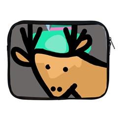 Deer Apple iPad 2/3/4 Zipper Cases