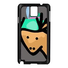Deer Samsung Galaxy Note 3 N9005 Case (Black)