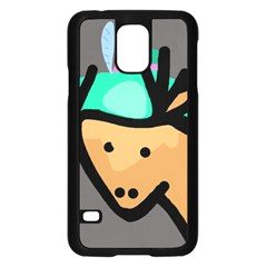 Deer Samsung Galaxy S5 Case (Black)