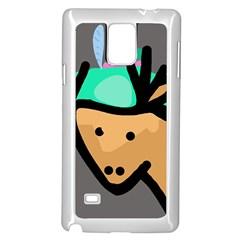 Deer Samsung Galaxy Note 4 Case (White)