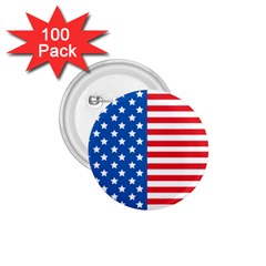 Usa Flag 1.75  Buttons (100 pack)