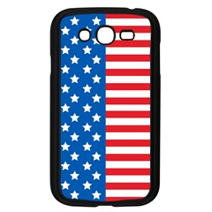 Usa Flag Samsung Galaxy Grand DUOS I9082 Case (Black)