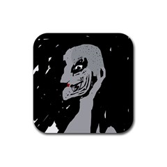 Horror Rubber Square Coaster (4 pack)