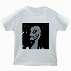 Horror Kids White T-Shirts