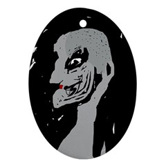 Horror Oval Ornament (Two Sides)