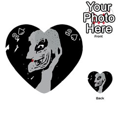 Horror Playing Cards 54 (Heart)