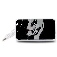 Horror Portable Speaker (White)