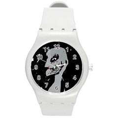 Horror Round Plastic Sport Watch (M)
