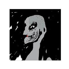 Horror Small Satin Scarf (Square)