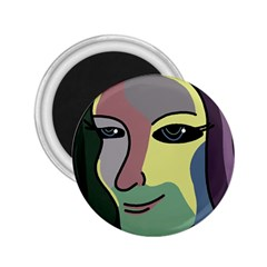 Lady 2.25  Magnets