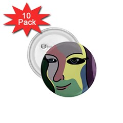 Lady 1.75  Buttons (10 pack)