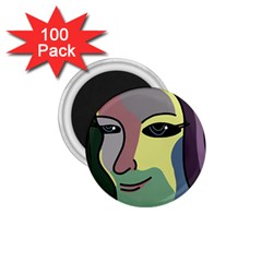 Lady 1.75  Magnets (100 pack)