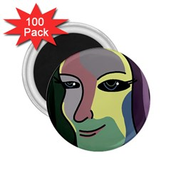 Lady 2.25  Magnets (100 pack)