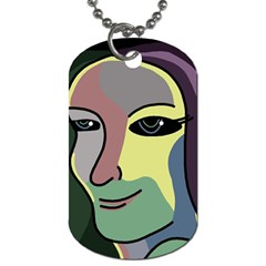 Lady Dog Tag (Two Sides)