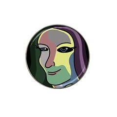 Lady Hat Clip Ball Marker (4 pack)