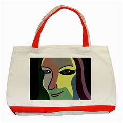 Lady Classic Tote Bag (Red)