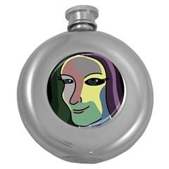 Lady Round Hip Flask (5 oz)