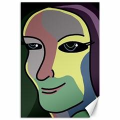 Lady Canvas 12  x 18