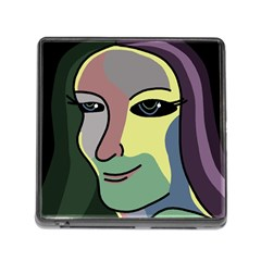 Lady Memory Card Reader (Square)