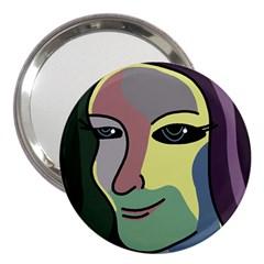 Lady 3  Handbag Mirrors