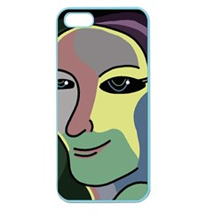 Lady Apple Seamless iPhone 5 Case (Color)