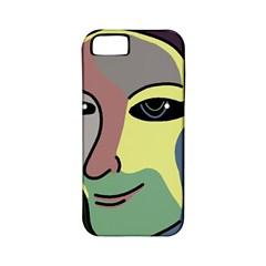 Lady Apple iPhone 5 Classic Hardshell Case (PC+Silicone)