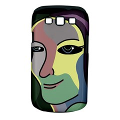 Lady Samsung Galaxy S III Classic Hardshell Case (PC+Silicone)