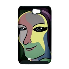 Lady Samsung Galaxy Note 2 Hardshell Case (PC+Silicone)