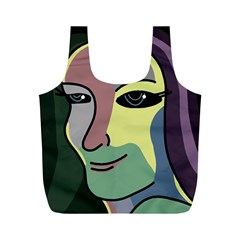 Lady Full Print Recycle Bags (M)