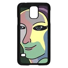 Lady Samsung Galaxy S5 Case (Black)
