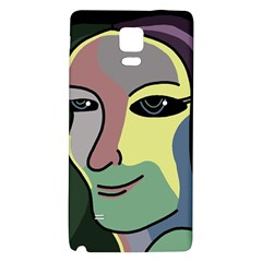 Lady Galaxy Note 4 Back Case