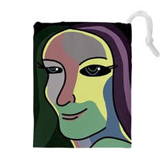 Lady Drawstring Pouches (Extra Large)