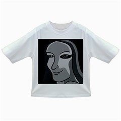 Lady - gray Infant/Toddler T-Shirts