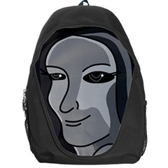Lady - gray Backpack Bag