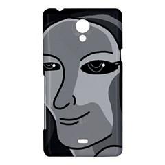 Lady - gray Sony Xperia T