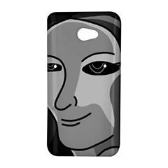 Lady - gray HTC Butterfly S/HTC 9060 Hardshell Case