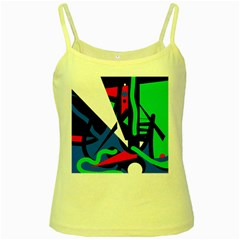 Find me Yellow Spaghetti Tank