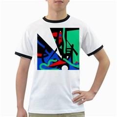 Find me Ringer T-Shirts