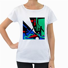 Find me Women s Loose-Fit T-Shirt (White)