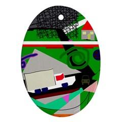 Trip Ornament (Oval)