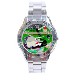 Trip Stainless Steel Analogue Watch