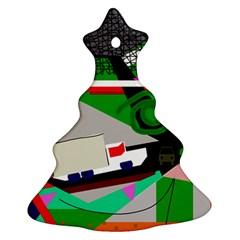 Trip Christmas Tree Ornament (2 Sides)