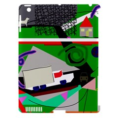 Trip Apple iPad 3/4 Hardshell Case (Compatible with Smart Cover)
