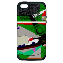 Trip Apple iPhone 5 Hardshell Case (PC+Silicone)