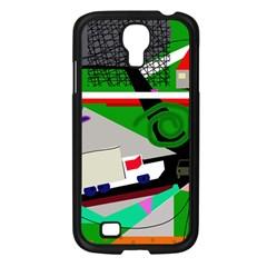 Trip Samsung Galaxy S4 I9500/ I9505 Case (Black)
