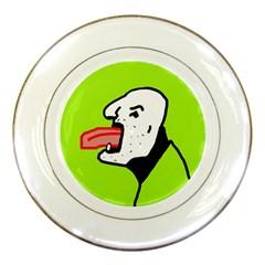 Protrusion  Porcelain Plates