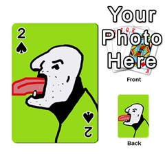 Protrusion  Playing Cards 54 Designs
