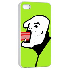 Protrusion  Apple iPhone 4/4s Seamless Case (White)