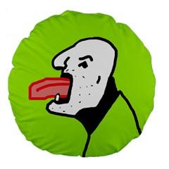 Protrusion  Large 18  Premium Flano Round Cushions