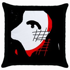 Revolution Throw Pillow Case (Black)